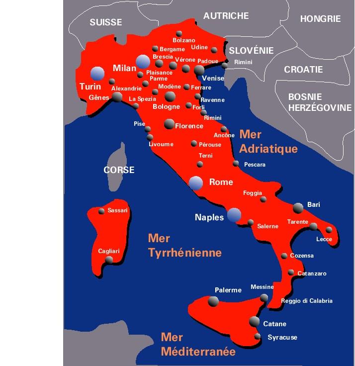 carte-italie-villes